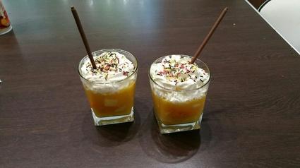 Recette de cappuccino de fruits exotiques