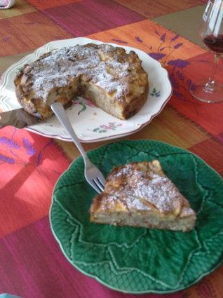 Recette de gâteau aux noix et aux pommes