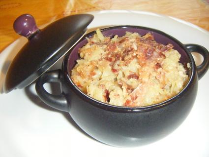Recette de roïgebrageldi (pommes de terre marcaires)