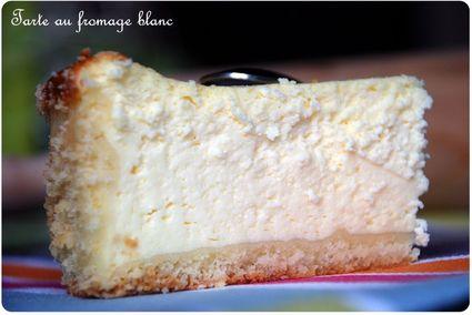 Recette de tarte au fromage blanc aérienne