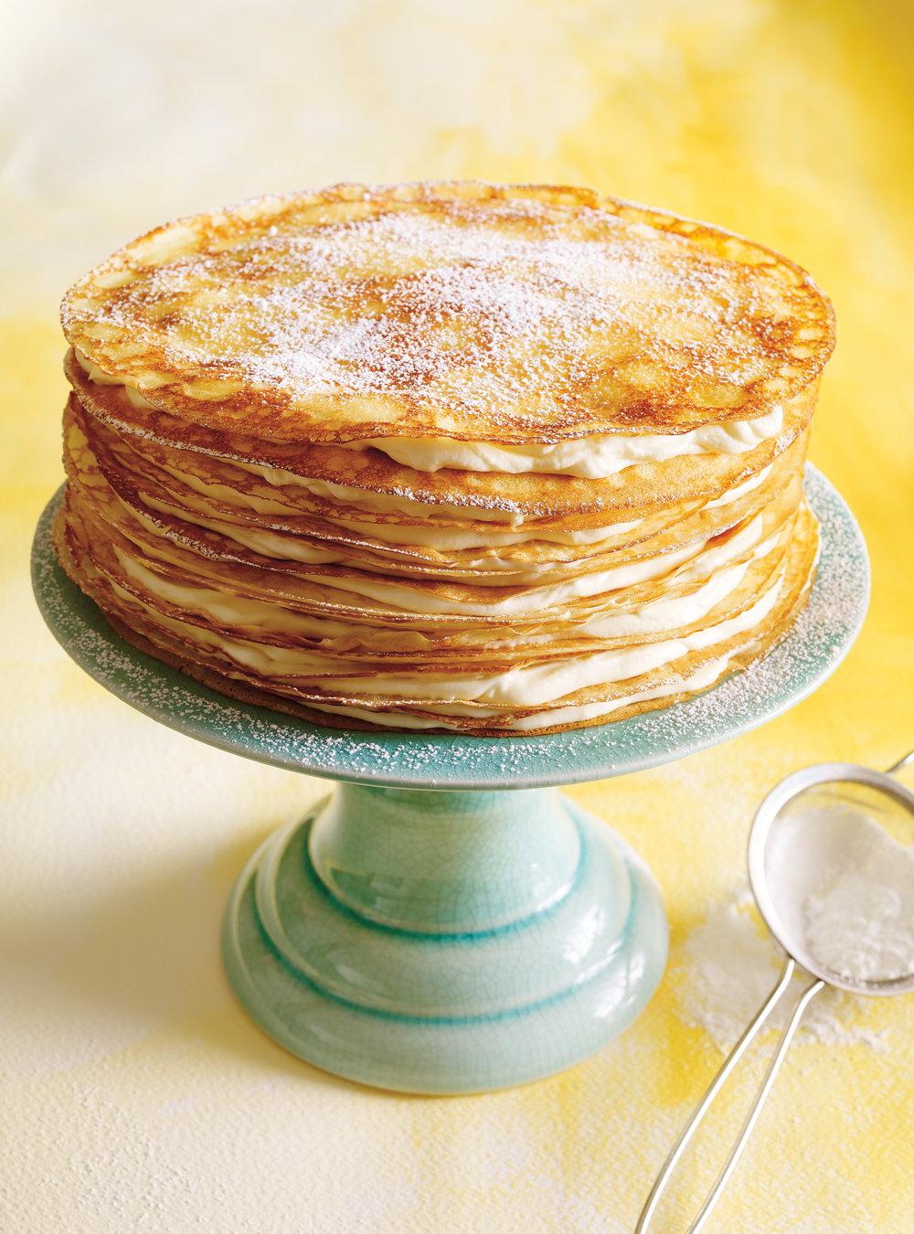 Gâteau mille-crêpes | ricardo