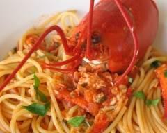 Spaghetti au homard sans gluten | cuisine az