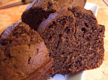 Recette de cake au chocolat et aux zestes d'orange confits