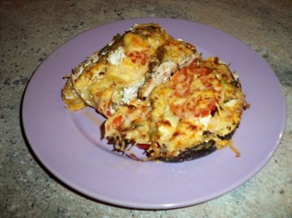 Recette de gratin d'aiguillettes de poulet provençal