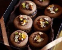 Recette macarons au chocolat pimenté façon mendiants