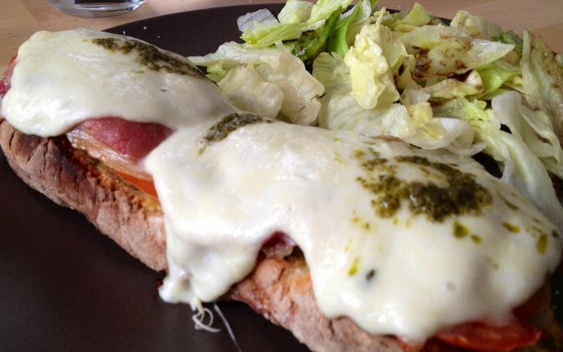 Recette tartine italienne pas chère et express > cuisine étudiant