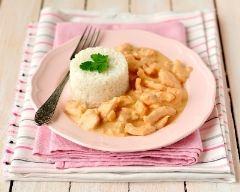 Recette poulet à la sauce blanche au paprika