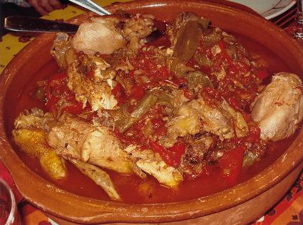 Recette de poulet basquaise traditionnel