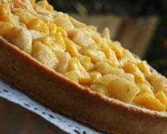 Recette tarte croustifondante aux deux pommes et épices
