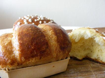 Recette de vraie brioche du boulanger