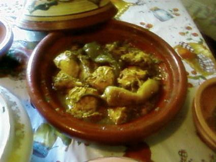 Recette tajine au poulet épicé (poulet)