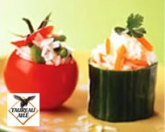 Recette tomates et concombres farcis