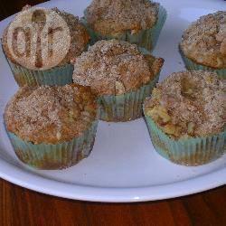 Recette muffins aux pommes façon crumble – toutes les recettes ...
