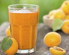 Recette smoothie quetche abricot citron