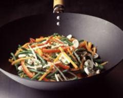 Recette légumes sautés au wok
