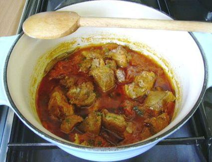 Recette estouffade d'agneau au paprika