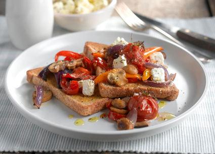 Recette de tartines provençales