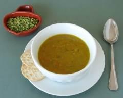 Recette soupe aux pois cassés végétarien