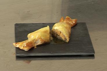 Recette de bonbons de foie gras, poire au porto facile et rapide