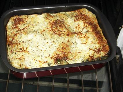 Recette de lasagnes à la florentine