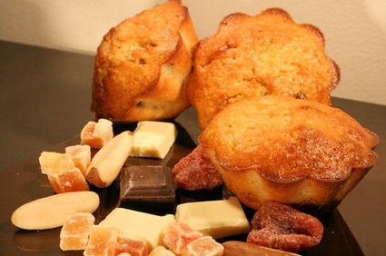 Recette de muffins au quinoa, chocolat et fruits secs