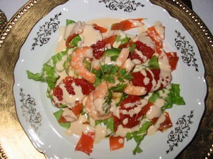 Recette de salade de pamplemousse