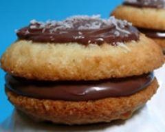 Recette whoopie pies noix de coco et nutella