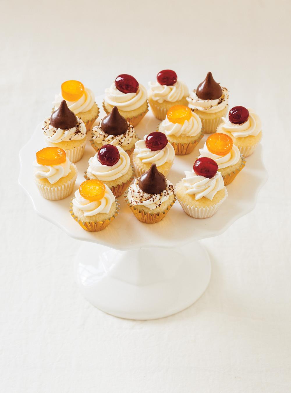 Mini-cupcakes à la vanille | ricardo