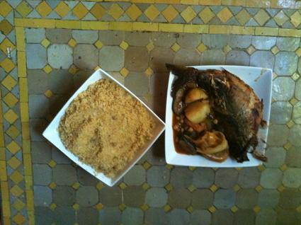 Recette couscous au poisson (poisson)