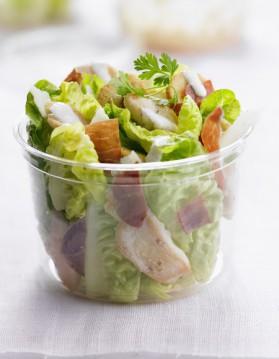 Lapin d'été en salade