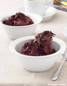 Mousse au chocolat épicée pour 4 personnes