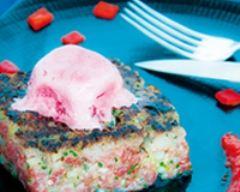 Recette tartare glacé façon temps des cerises