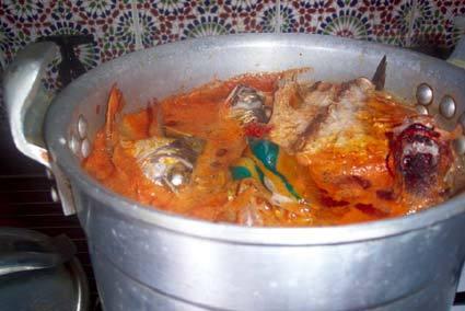Recette de soupe de poisson express