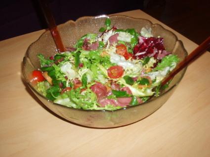 Recette de salade périgourdine traditionnelle