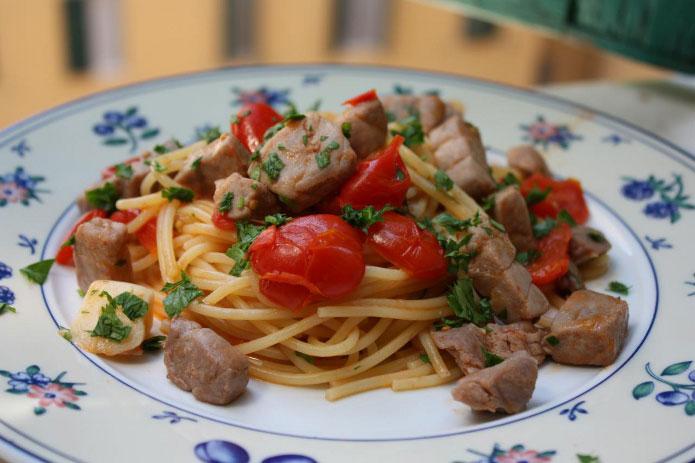 Spaghetti thon frais