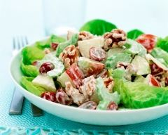 Recette salade waldorf facile