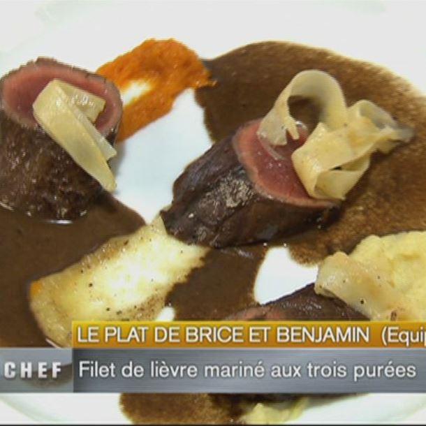 Recette crépinette de lièvre braisée en cocotte, légumes oubliés ...
