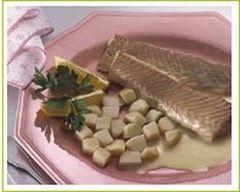 Recette saumon sauce mousseline