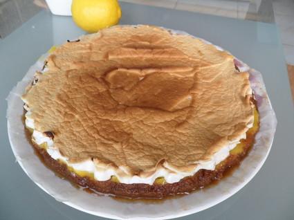 Recette de tarte au citron meringuée et speculoos