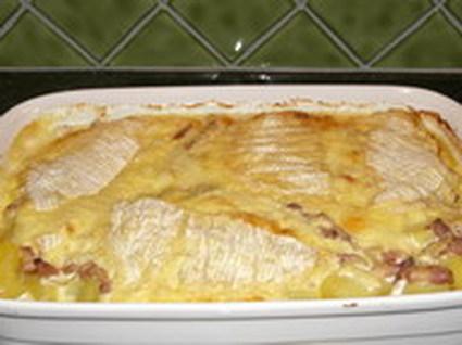 Recette de tartiflette aux dix pommes de terre