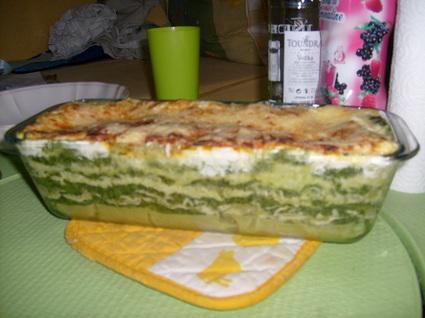 Recette de lasagnes épinards et chèvre