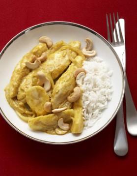 Poulet au curry pour 4 personnes