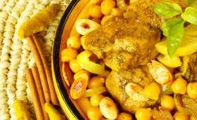 Tajine de poulet aux mirabelles de lorraine pour 4 personnes ...
