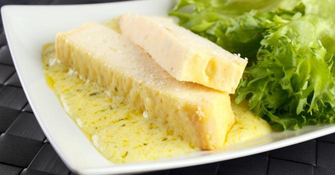 Recette de pain de poisson blanc à la sauce légère au citron