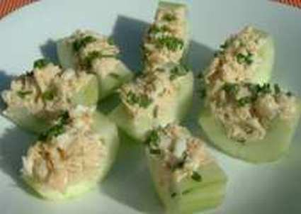 Recette de concombre au thon