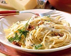 Recette spaghetti à la carbonara