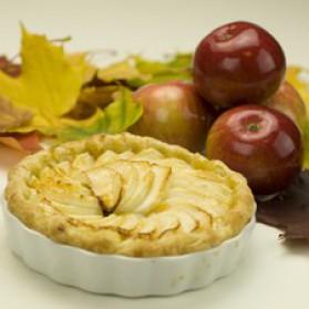 Tarte aux pommes alsacienne pour 4 personnes