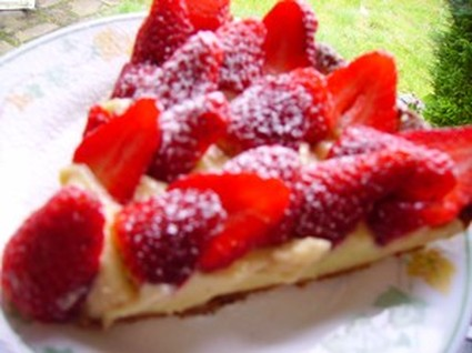 Recette de tarte aux fraises 100% maison