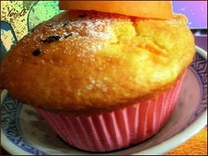 Recette de muffins aux abricots, curcuma et amandes