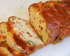 Recette cake aux olives et jambon cru